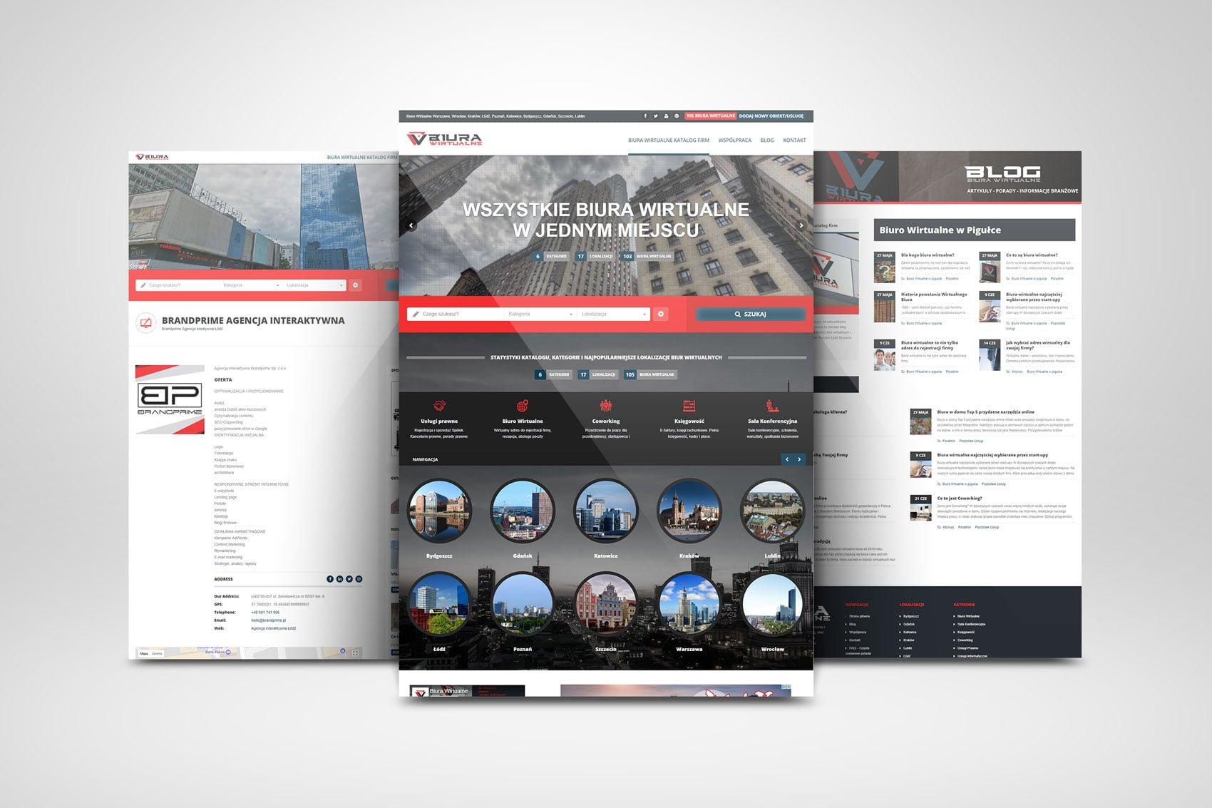 Biurawirtualne.info – Katalog Firm, Portal