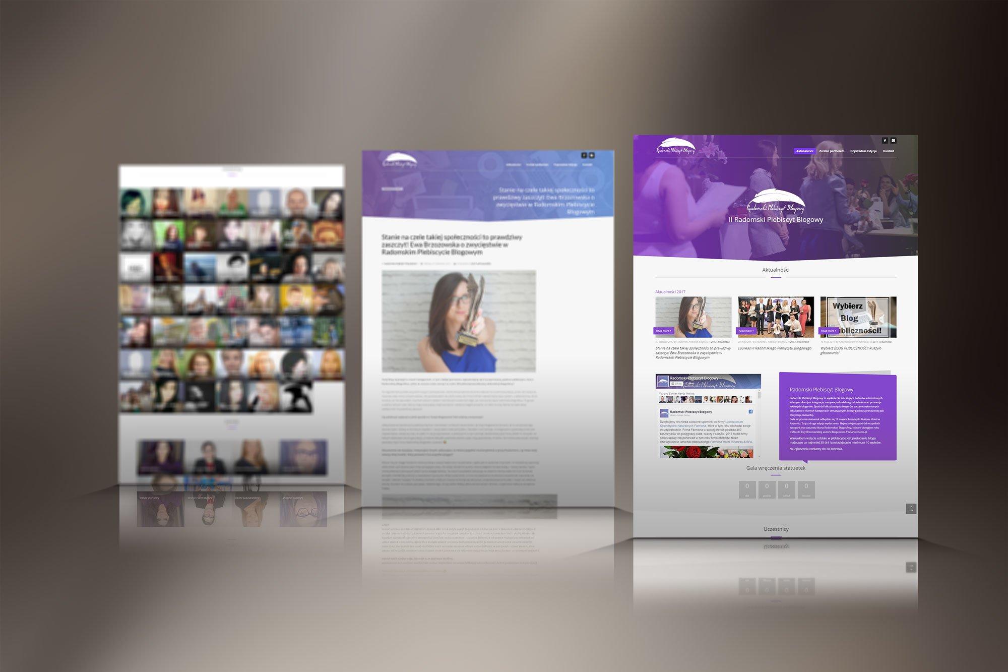 Strona plebiscytu blogowego
